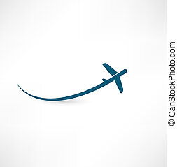 avion, symbole