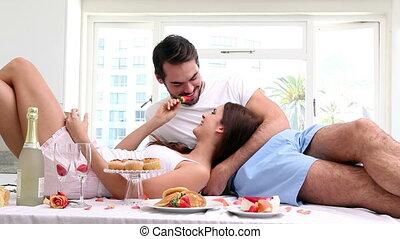 avoir, couple, séduisant
