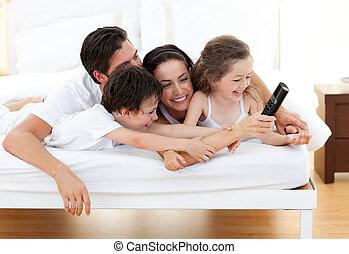 avoir, famille, vif, amusement