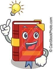 avoir, idée, sortilège, livre, forme, magie, mascotte