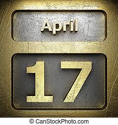 avril, doré, 17, signe