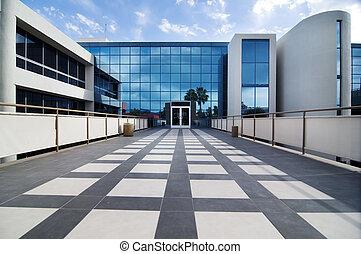 bâtiment, appareil commercial