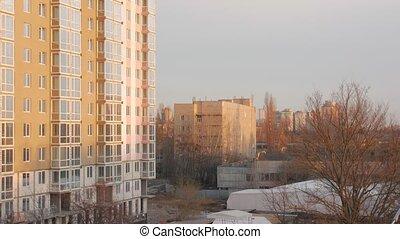 bâtiment, appartement, site