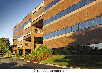 bâtiment, commercial, bureau