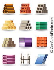 bâtiment, &, constructions, matériels
