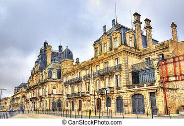 bâtiment, descas, france, historique, bordeaux, chateau