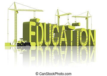 bâtiment, education