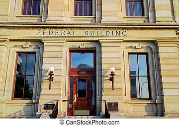 bâtiment, fédéral