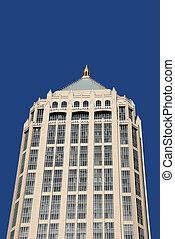 bâtiment, highrise, bureau