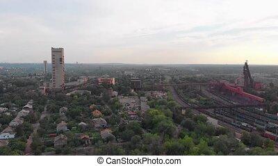 bâtiment industriel, mine