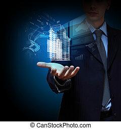 bâtiment, ingénierie, conception, automation