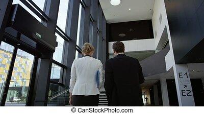 bâtiment, salle, bureau, professionnels