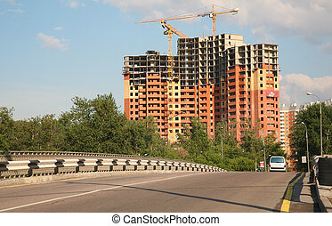 bâtiment, urbain
