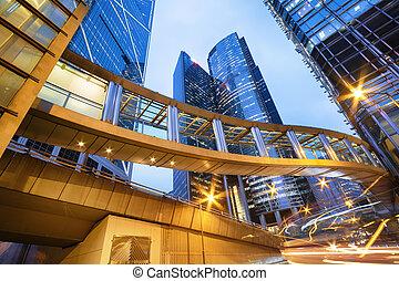 bâtiments bureau, hong kong
