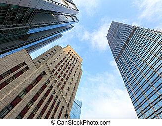 bâtiments, bureau
