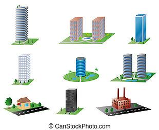 bâtiments, divers