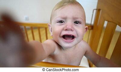 bébé, découvrir, appareil photo, vidéo