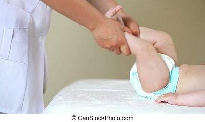 bébé, physiothérapie