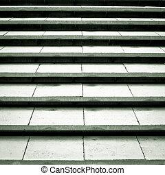 béton, étapes