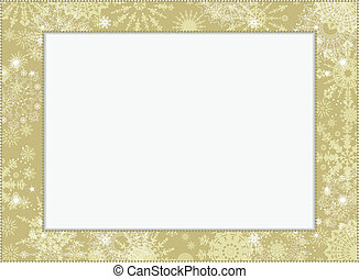 background-frame, flocons neige