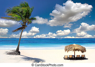 baie, exotique, siam, plage, chang, thaïlande, îles