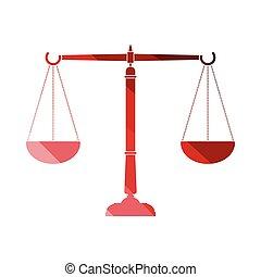 balance justice, icône