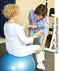 balle, physique, yoga, thérapie