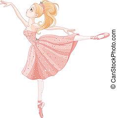 ballerine, danse