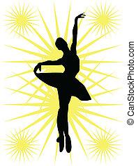 ballerines, silhouette