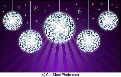 balles, disco