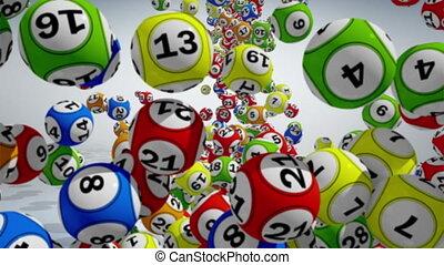 balles, loto, 3d