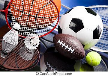 balles, sport, équipement