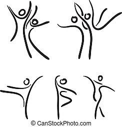 ballet, dancers.
