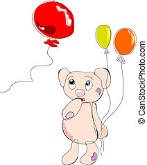 ballons, ours