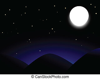 balloon, lune