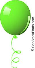 balloon, vert