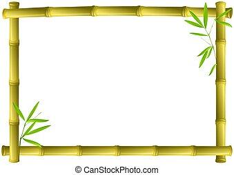 bambou, cadre