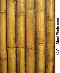 bambou, rang