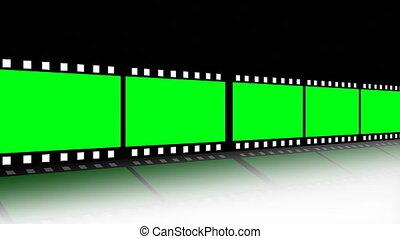 bande film, mouvement