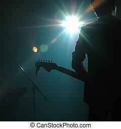 bande, guitariste, pop