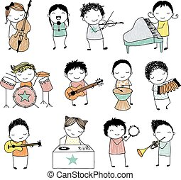bande, musical