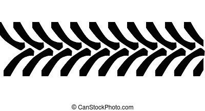 bande roulement pneu, tracteur, marques