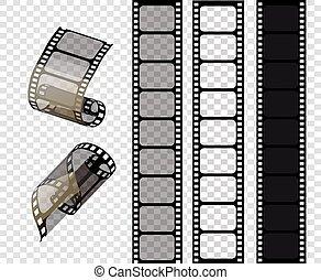 bandes, style, eps., illustration, série film, .vector, vecteur, stampunk, 10