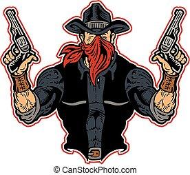 bandit, cow-boy