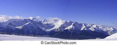 banff, panoramique