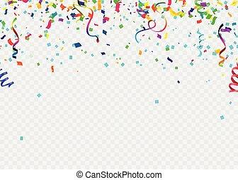 bannière, célébration, anniversaire