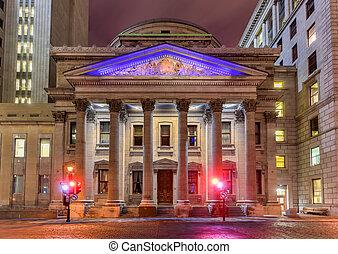banque, montréal