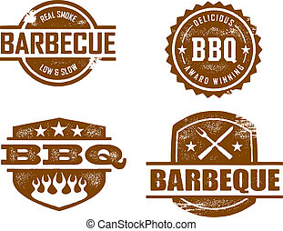 barbecue, timbres