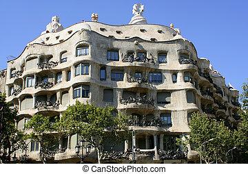 barcelone, architecture