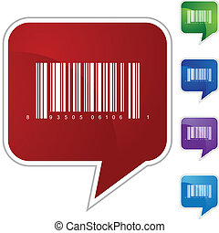 barcode, icône